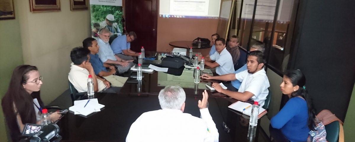 Presentaron Proyecto Internacional de Adaptación Climática en el GADM Santa Ana