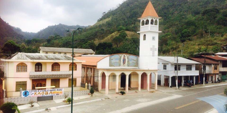 Inician fiestas de parroquialización de Honorato Vásquez