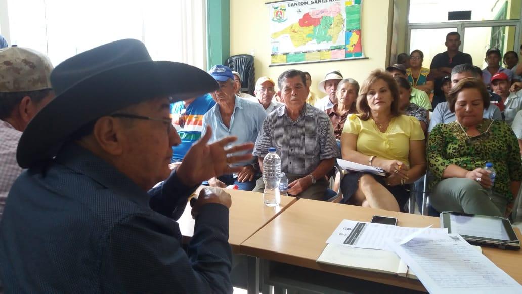 Gobierno municipal de Santa Ana gestiona instalación de antena de telefonía móvil para San Pablo de Pueblo Nuevo