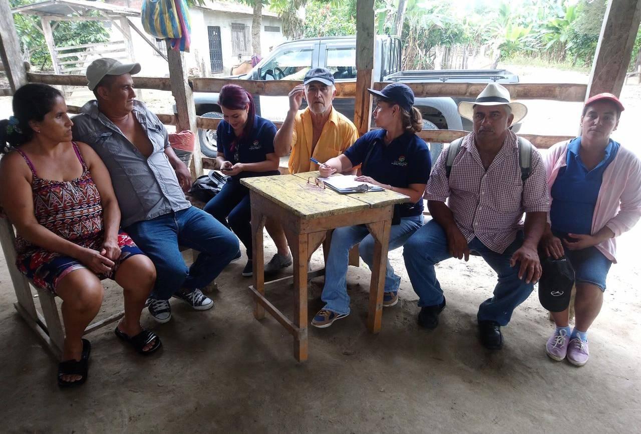 Participación Ciudadana actualiza información de necesidades en las 6 parroquias de Santa Ana