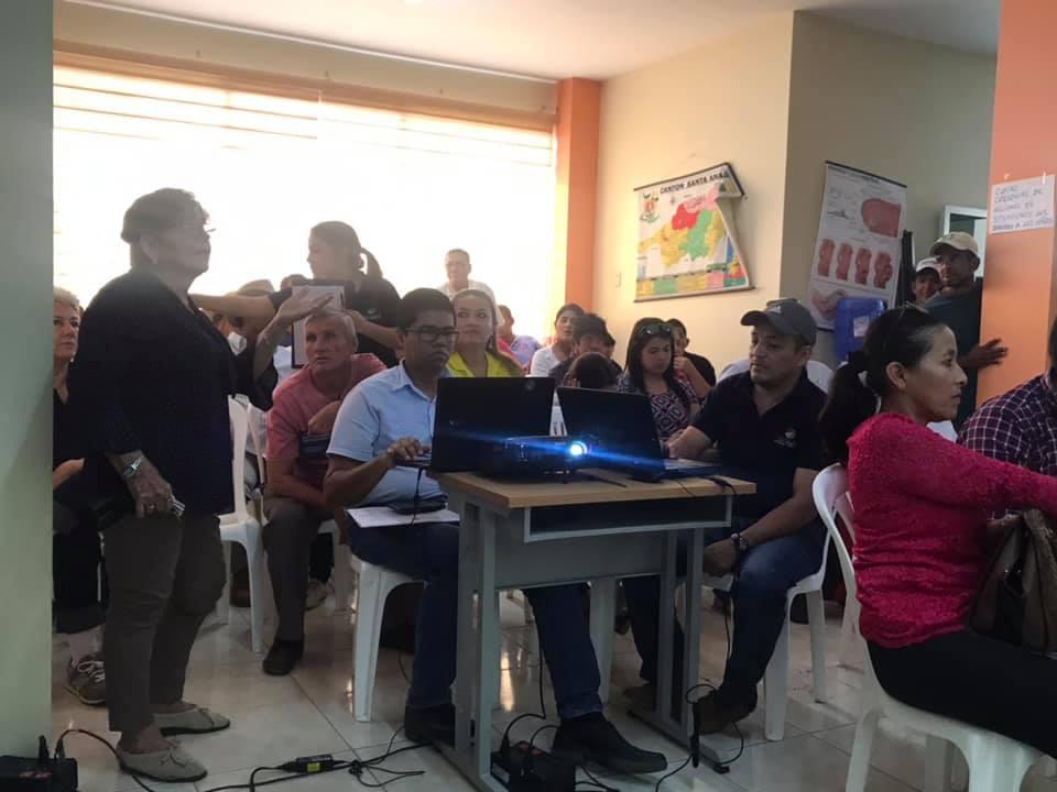 Habitantes de las 4 parroquias rurales de Santa Ana participaron de asambleas ciudadana para el presupuesto participativo 2020