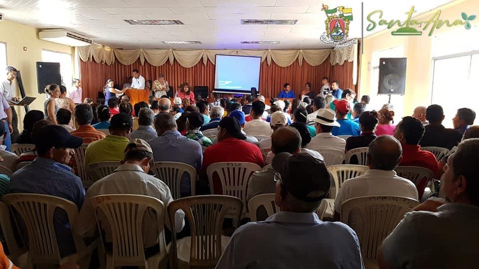Asambleas de presupuesto se realizó en parroquia Ayacucho