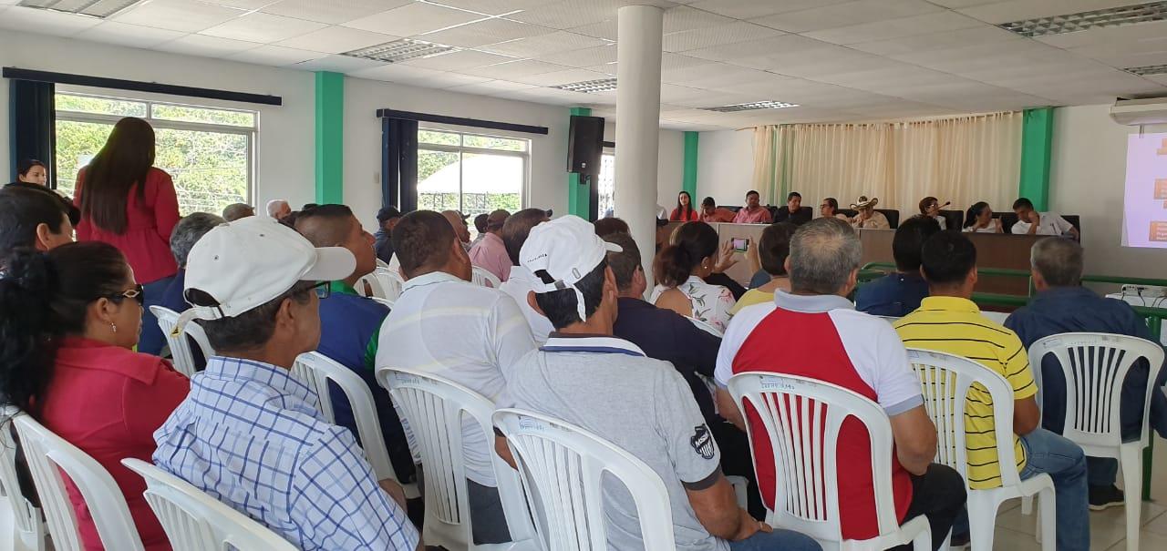 Asambleas de presupuesto se realizó en parroquia Honorato Vásquez