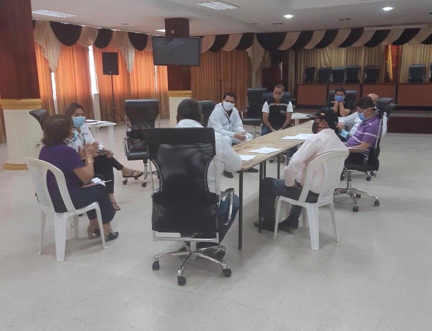 Municipio se prepara con manual de protocolo de bioseguridad para próxima reactivación de labores de acuerdo al cambio de semaforización en lo posterior.